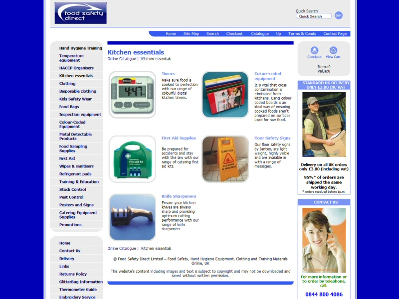 Continued assistance in the development of the website for Thermometer Superstore of Lancaster
